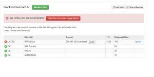 IP blacklist removal service