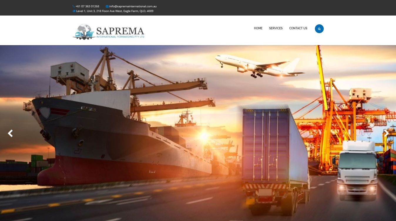 saprema international freight forwarding
